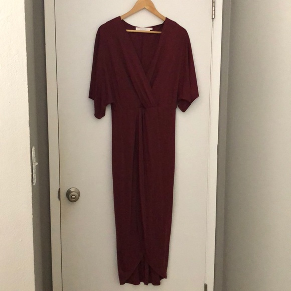 Astr Dresses & Skirts - Faux wrap dress
